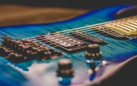 Обои музыка, фон, гитара, струны