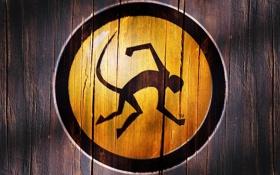 Обои обезьяна, логотип, Ximian