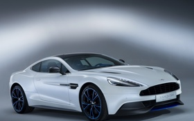 Картинка машина, Aston Martin, суперкар, white, Vanquish Q