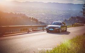 Обои Audi, Wheels, Ауди, Auto, Авто, Vossen, природа