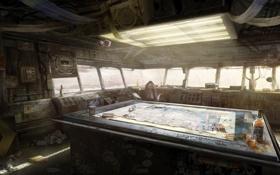 Картинка карты, стол, вино, Apocalypse, MotorStorm