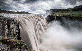 Обои природа, река, скалы, стихия, водопад, Natur, Landschaft