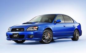 Обои Subaru, субару, Legacy, легаси, 2002, STi, S401