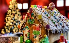 Картинка Рождество, печенька, Новый год, cookies, Christmas, New Year, sweets