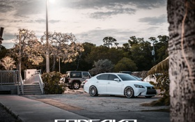 Картинка машина, авто, Lexus, диски, auto, F-Sport, Wheels