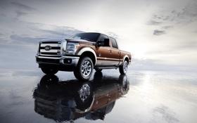 Обои обои, Ford, джип, внедорожник, wallpaper, форд, F-250