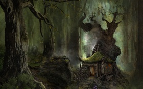 Обои лес, пейзаж, природа, Arcania Gothic 4