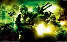 Обои война, солдаты, tiberium wars, Сommand & conquer 3