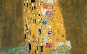 Обои Поцелуй, скандальный художник венского модерна, Густав Климт