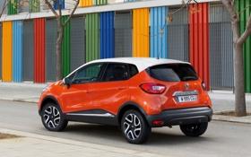Картинка рено, Renault, машина, car, orange, Captur