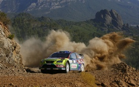 Обои Ford, Focus, RS WRC
