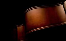 Картинка чёрный, music, изгибы, макро фото, macro, музыкальные инструменты