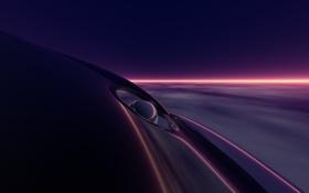 Обои фиолетовый, линии, deep purple
