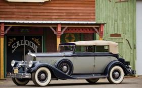 Обои авто, ретро, обои, wallpaper, статуэтка, салон, лучник