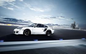 Обои Porsche, Скорость, Машины, Трасса, Шатл, GT2RS