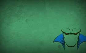 Обои Martian Manhunter, blo0p, • DC Comics, Justice League, минимализм