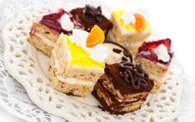 Обои десерт, пирожные, сладкое