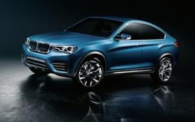 Обои Concept, BMW, БМВ, концепт, передок