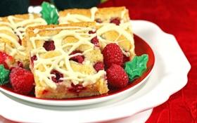 Обои wallpaper, пирожное, еда, widescreen, фон, широкоформатные, ягода