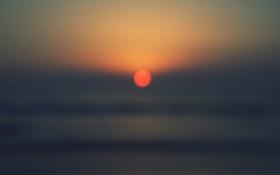 Обои песок, волны, пляж, небо, вода, закат, океан