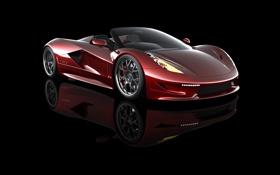 Обои США, гиперкар, более 480км, самая быстрая в мире, Dagger GT