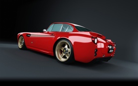Картинка дизайн, чайки, крыло, Ferrari, sportcar, cars, auto