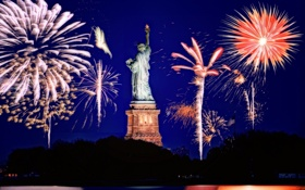 Обои United States, New York City, New Jersey, PetSmart Fireworks Show