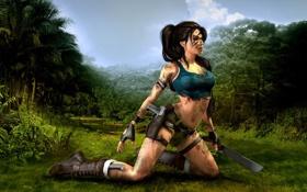 Обои девушка, tomb raider, Lara Croft, Расхитительница гробниц, adventure