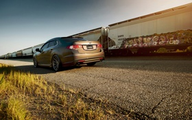 Картинка Honda, Accord, солнечно, хонда, Tuning, акура, Acura
