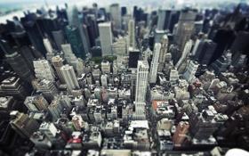 Картинка город, здания, NYC