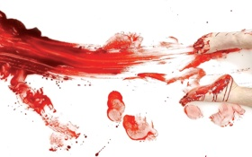 Картинка кровь, Dexter, Декстер