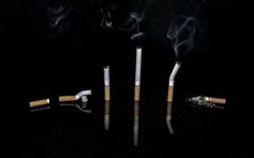 Картинка фон, дым, сигареты