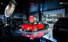 Обои вейрон, бугатти, Bugatti, Veyron, Kahn Design