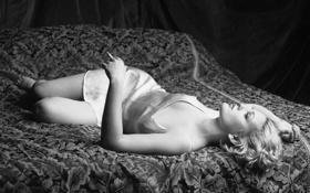 Картинка сигарета, постель, 1995, Drew Barrymore