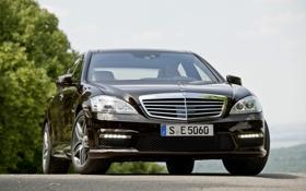 Картинка Mercedes Benz, авто, тачки, 1920x1200 wallpapers, S63 AMG, машины, обои для рабочего стола с машинами