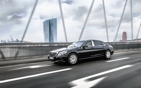 Картинка Mercedes-Benz, Maybach, мерседес, майбах, S-Class, X222