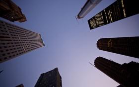 Картинка здания, небоскребы, чикаго, chicago