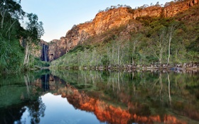 Обои пейзаж, Kakadu National Park, Jim Jim Falls