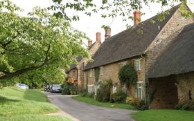 Обои великобритания, дома, sibford gower, oxfordshire