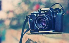 Картинка объектив, камера, zenit, фотоаппарат