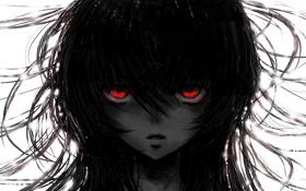 Обои глаза, девушка, арт, daisy, invisibleworld