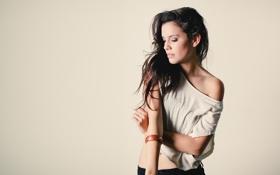 Картинка девушка, плечо, Pilar Alexandria