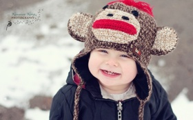 Обои улыбка, настроение, малий