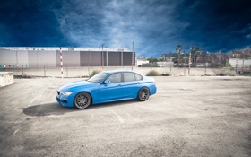 Картинка BMW, tuning, 328i, MRR