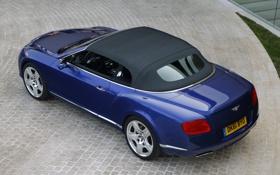 Обои авто, машины, синий, Bentley, Continental, Бентли, Cars