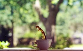 Картинка фон, кофе, чашка