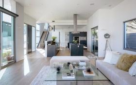 Картинка дизайн, дом, стиль, вилла, интерьер, кухня, жилое пространство