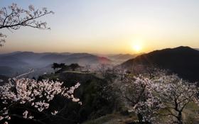 Картинка Природа, Горы, Япония, Japan, Красиво, Nature, Beautiful
