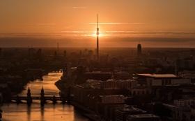 Картинка ночь, город, Berlin