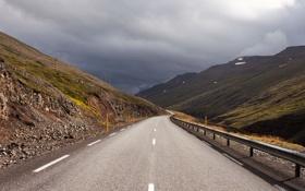 Картинка дорога, пейзаж, гора